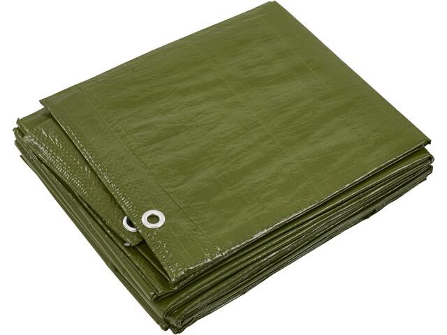 CAMPZ Telone per pavimento 6x8m, verde oliva